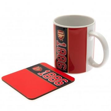 Arsenal Mug & Coaster Set